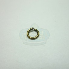 4mm 21ga Antique Brass Jump Rings