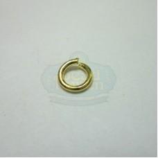 4mm 21ga Gold Jump Rings