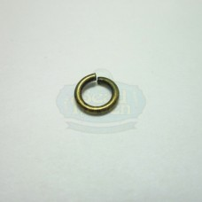 6mm 18ga Antique Brass Jump Rings