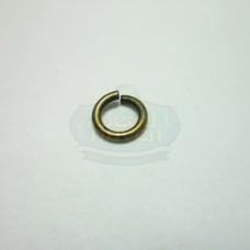 6mm 18ga Antique Brass Jump Rings