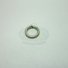 6mm 21ga Antique Silver Jump Rings