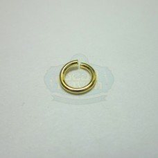 6mm 21ga Gold Jump Rings