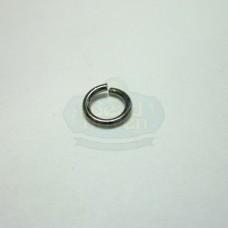 6mm 21ga Gunmetal Jump Rings