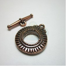 Antique Copper Sunburst Toggle