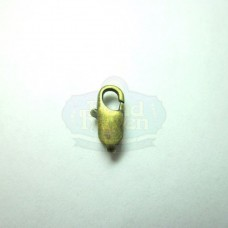 Antique Brass Small Lobster Clasp