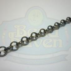 Gunmetal Rolo Chain