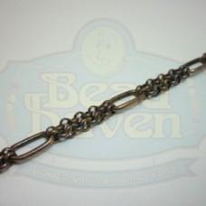 Antique Copper Double Strand w/Oval Chain