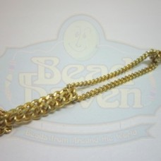 Gold Looped Curb Chain