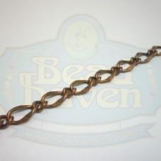 Antique Copper Large Curb Link Chain