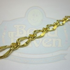 Gold Large Curb Link Chain