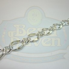Silver Large Curb Link Chain