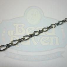 Gunmetal Curb Chain w/Link