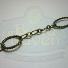 Antique Brass Fancy Chain