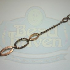 Antique Copper Fancy Cable Chain