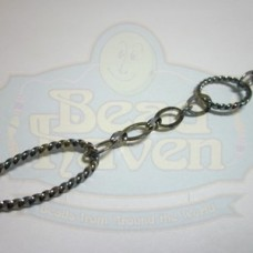 Gunmetal Fancy Chain