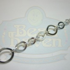 Silver Flat Link Chain