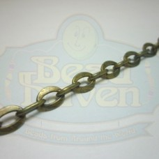 Antique Brass Fancy Cable Chain