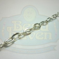 Silver Fancy Cable Chain