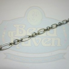Antique Silver Medium Long and Short Chain
