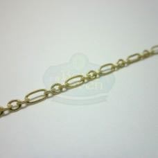 Matte Gold Medium Long and Short Chain