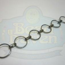 Gunmetal Round Link Chain