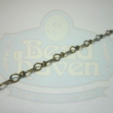 Antique Brass Fancy Tiny Chain