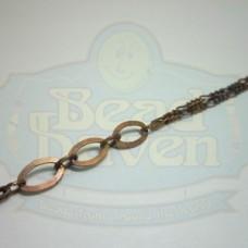 Antique Copper Fancy Chain