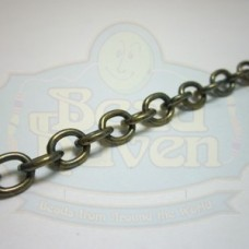Antique Brass Cable Chain