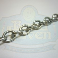 Antique Silver Cable Chain