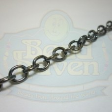 Gunmetal Cable Chain