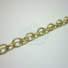 Matte Gold Cable Chain