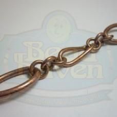Antique Copper Large Link Chain