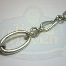Antique Silver Large Link Chain