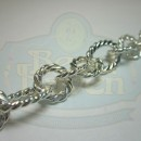 Silver Large Twist Link Chain
