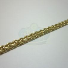 Matte Gold Mesh Rope