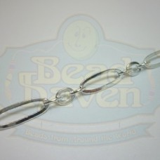 Silver Large Long and Short Chain