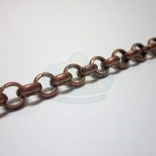 Antique Copper 6mm Rolo Chain