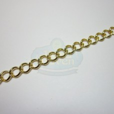Gold 6mm Curb Chain
