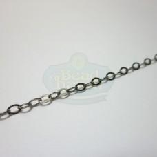 Gunmetal Tiny Flat Cable Chain