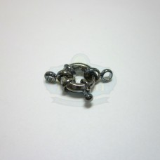 Gunmetal Small Spring Ring Clasp