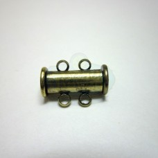 Antique Brass 2 std. Magnetic Bar Clasp