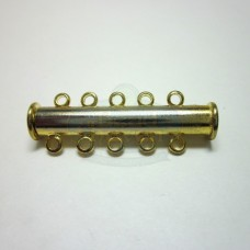 Gold 5 std. Magnetic Bar Clasp