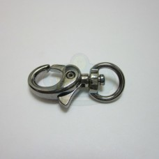 Gunmetal Medium Swivel Lobster Clasp