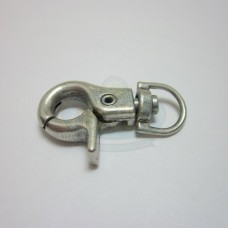 Antique Silver Large Swivel Clip Clasp