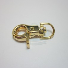 Gold Large Swivel Clip Clasp