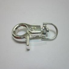 Silver Large Swivel Clip Clasp