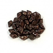 DiamonDuo 2 Hole Bead Chocolate Bronze