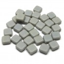 6mm Czech Mate Ashen Gray-Matte