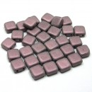 6mm Czech Mate Metallic Suede-Pink