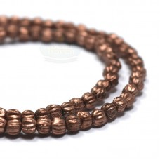 3mm Melon Matte Metallic Bronze Copper